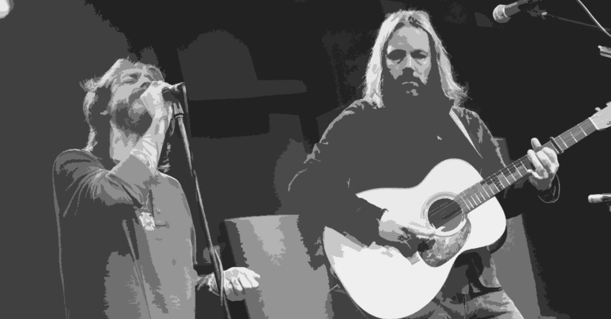 Chris & Rich Robinson of The Black Crowes