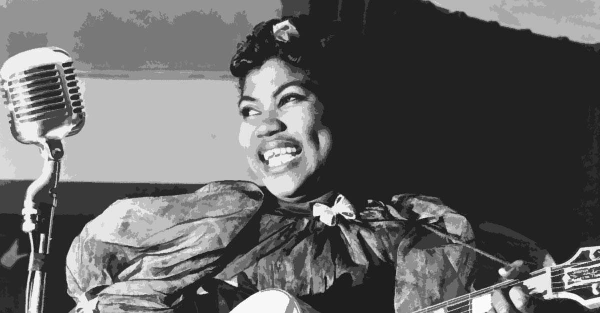 Sister Rosetta Tharpe on World Cafe's celebration of Black History Month